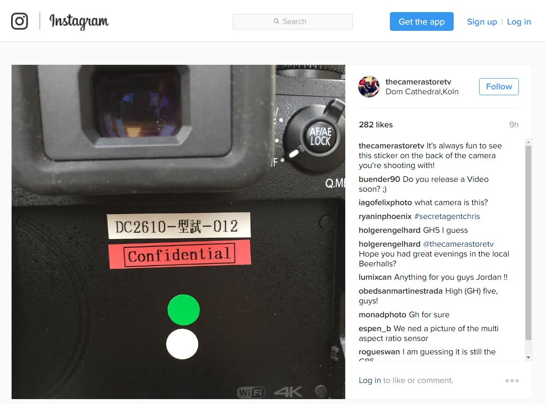 instagram-thecamerastoretv-gh5-confidential-prototype